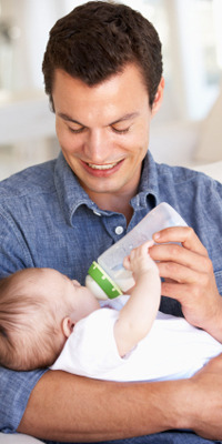 Baby bonding tips for dads