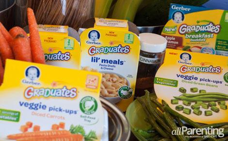 Gerber Guilt Is It Bad To Feed Kids Packaged Food