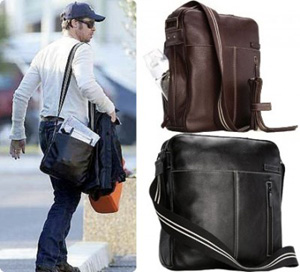 Brad Pitt Is A Dad Of Six So You Know He S Got To Have Some Insight When It Comes The Best Diaper Bag Has Been Spotted Wearing