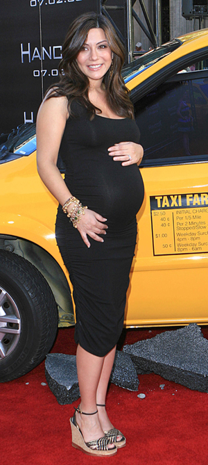 Marisol Nichols pregnant