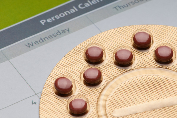 Bill control pill and calendar