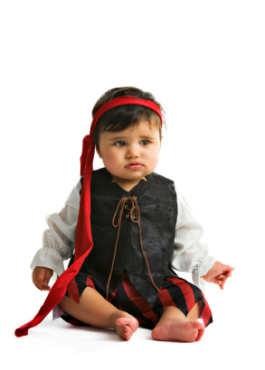 Diy Baby Girl Pirate Costume DIY Halloween c...