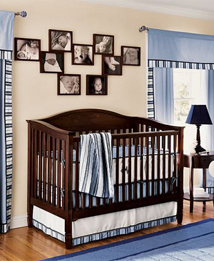 how to design a baby nursery on a budget - Pottery Barn Babies Room