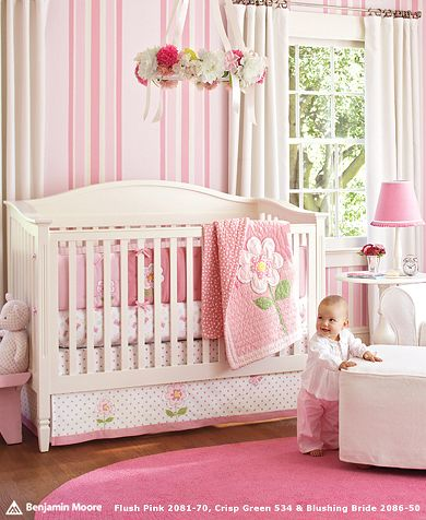 10 Baby nursery decorating ideas for girls