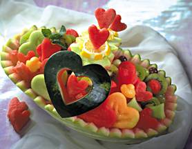 Easy Fruit Carving Ideas easy watermelon carving ideas