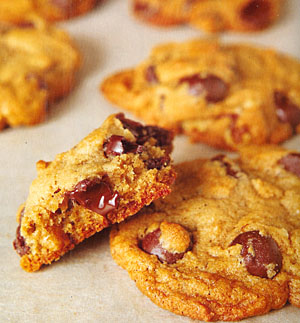 Chocolate Chip Cookies Straight Up or With Nuts