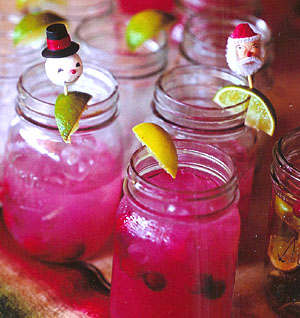 Larry Doll&#039;s Famous Cranberry Margaritas