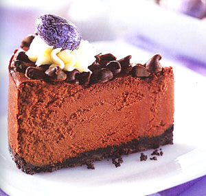 Deep Dark Chocolate Fudge Cheesecake Recipe