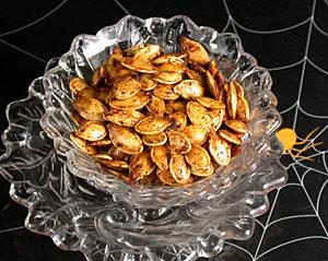 Gourmet roasted pumpkin seeds