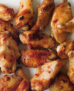 Tangy Thai Style Chicken Wings