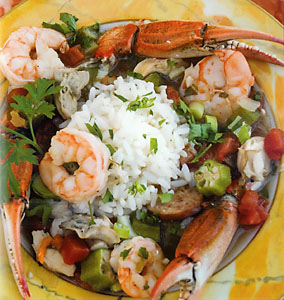 Louisiana Seafood Gumbo Recipe : : Recipes : Cooking Channel