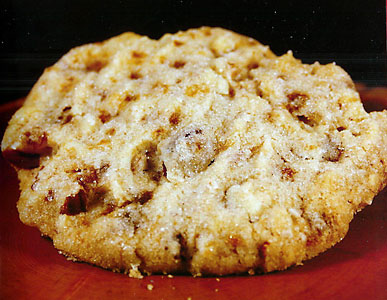 Almond Toffee Crunch Cookies Recipe