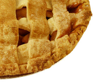 Caramelized apple pie