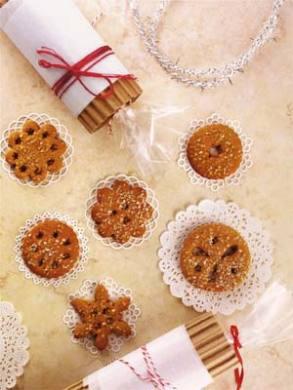 Gluten-Free Allspice Gingerbread Cookies