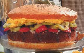 Burger Cake -- Novelty Cake