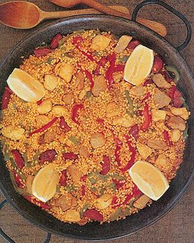 Paella de Carne -- Meat Paella