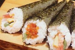 Spicy Tuna Hand Roll Sushi