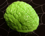 Lime Martian Brain Halloween Gelatin Mold Recipe