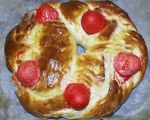 Tsoureki or Lambropsomo -- Greek Easter Bread 