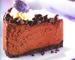 Deep Dark Chocolate Fudge Cheesecake