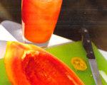South of the Border Fresh Papaya Slush