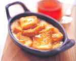 Chanterelle's Brioche Pudding with Truffle Honey