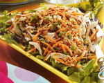 Holly Clegg's Chinese Chicken Salad with Asian Vinaigrette