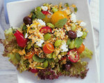 Middle Eastern Couscous Salad with Feta and Mint