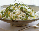 Weight Watchers' Asparagus and Pea Risotto