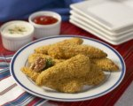 Crunchy Walnut Coated Chicken Strips