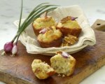 Chef Waldy Malouf's Onion Walnut Muffins