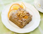 Buttermilk Walnut Coffee Cake with Orange Essence