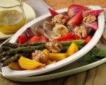 Roasted Vegetable and Walnut Salad
