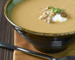 Curry Pumpkin and Walnut Soup