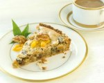 Walnut, Cherry Apricot Tart
