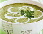 Nava Atlas' Vegan Puree of Spring Greens Soup