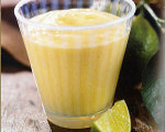Mango, Coconut, and Lime Smoothie