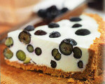 Blueberry Yogurt Cream Pie