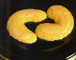 Orange Crescent Cookies