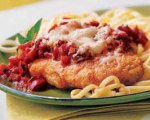 Quick Chicken Parmesan with Angel Hair Pasta
