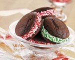 Peppermint Whoopie Pies