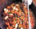 Vegetarian Three-Bean Chili