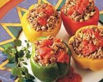Easy Beef Stuffed Peppers