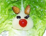 Easter Bunny Salad for Kids