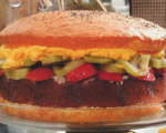 Burger Cake -- Novelty Cake