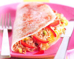 Spicy Crab Salad Crepes