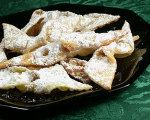 Chrusciki -- Polish Angel Wings Cookies