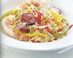 Express Shrimp and Sausage Jambalaya