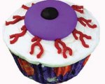 Eyeball Cupcakes for Halloween
