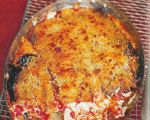 Gratineed Eggplant Lasagna